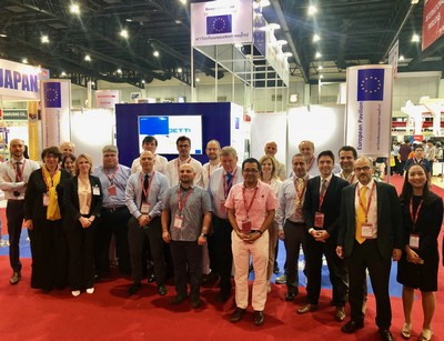 Metalex18 EU pavilion group 400