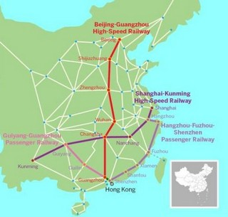 High Speed Railway Hong Kong